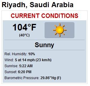 Riyadh Weather