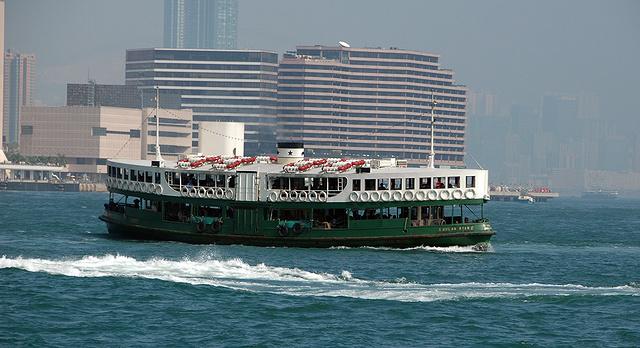 Hong Kong 2007 - Star ferry