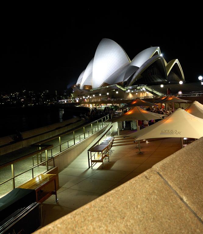 Syndey Opera by night 2008