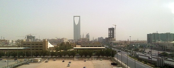 Riyadh - View from the Hotel